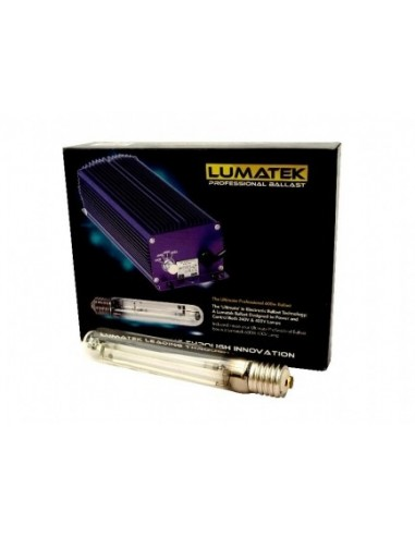 LUMATEK KIT ULTIMATE PRO 600W SUPER LUMEN - DIMMERABILE - 400V-240V + LAMPADA 600W 400V