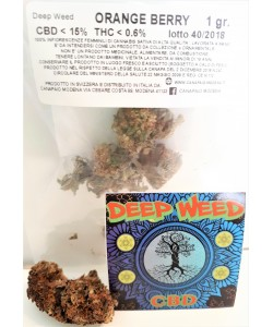 Deep Weed - Blue Orange - 2g