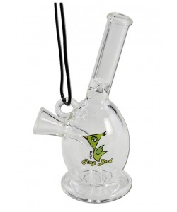 Black Leaf - Tiny Bird - Mini Blunt Bubbler