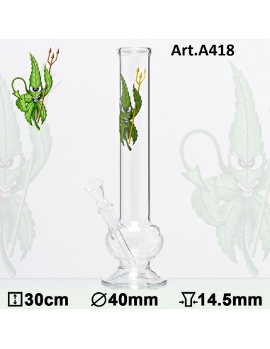 Mini Bong - Canna Heroes Cannadevil - h:30cm