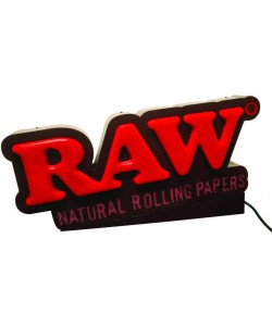 RAW - Insegna Luminosa LED - Natural Rolling Paper